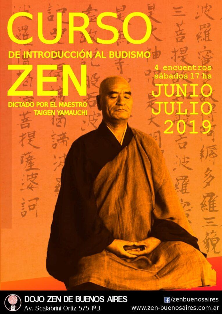 Curso de Introducción al Budismo Zen – Junio / Julio 2019